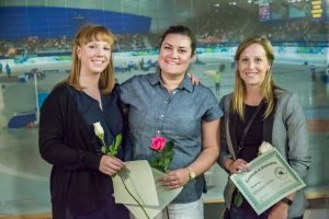 Provincial Stream Coach of the Year Nominees: Nina Semchyshyn, Jill MacGregor, Brandi Voss