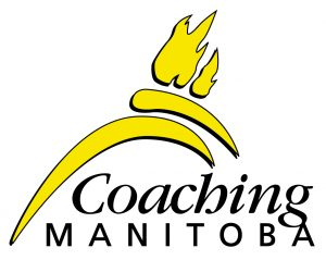 Coaching Manitoba's Yellow and Black Logo